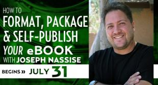 How To Format, Package & Self-Publish Your eBook with Joseph Nassise