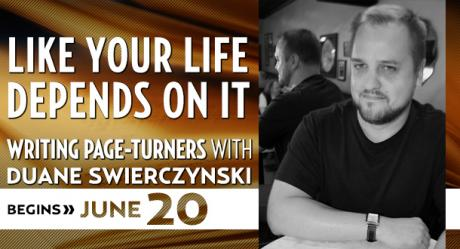 Like Your Life Depends On It with Duane Swierczynski