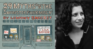 "10 Questions with ""29 Myths on the Swinster Pharmacy"" illustrator Lisa Brown"