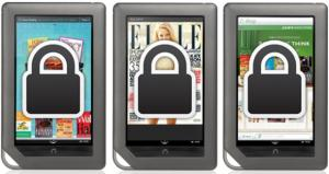 Internal storage restricted on Nook Tablet