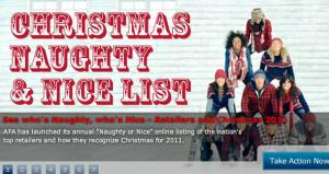 Barnes & Noble makes annual naughty list