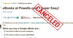 Google Axing Its eBook Reseller Program
