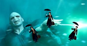 London Olympics Opening Ceremony: Mary Poppins vs Voldermort