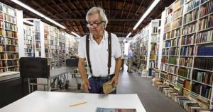 Author Larry McMurtry Downsizes Used Bookstore in Archer City