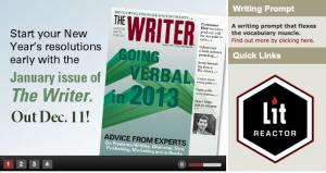 LitReactor in The Writer Magazine