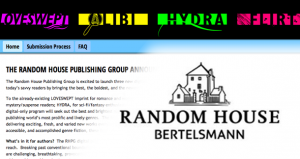 Random House accepting submissions