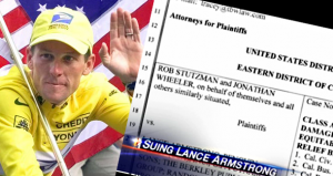Lance Armstrong Sued for 'False Advertising'