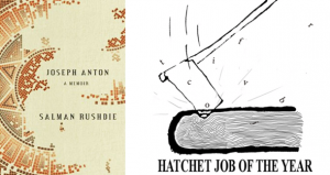 2013 Hatchet Job of the Year&#039; Award