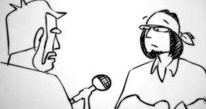 David Foster Wallace Animated PBS Interview