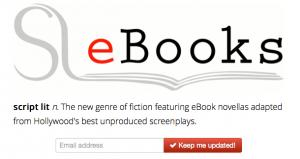 Script Lit Turns Unproduced Screenplays Into eBooks