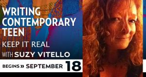 Writing Contemporary Teen with Suzy Vitello - September 2014