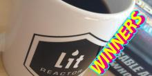 LitReactor Coffee Mug Giveaway Winners!