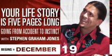 Your Life Story is Five Pages Long with Stephen Graham Jones