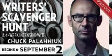 Writers' Scavenger Hunt with Chuck Palahniuk