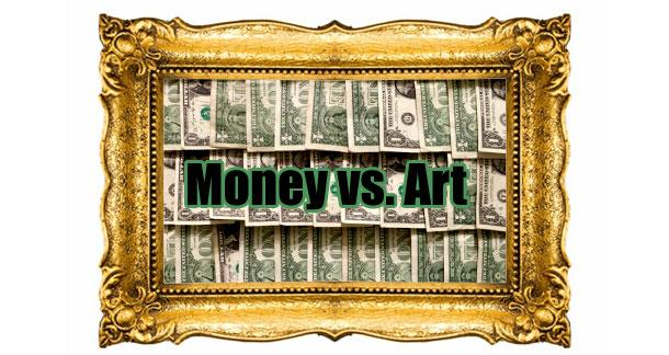 Money vs. Art