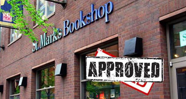 Rent reduction approved for St. Mark's Bookstore