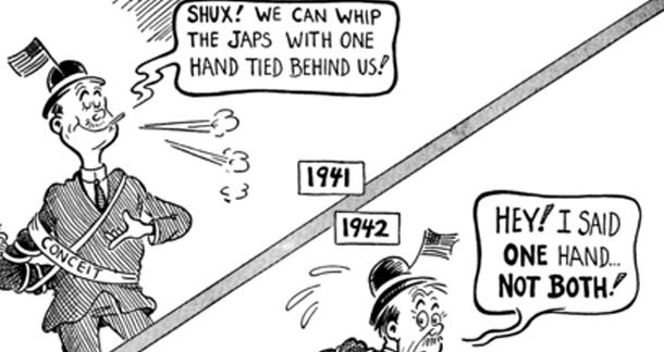 Dr. Seuss's World War II Cartoons