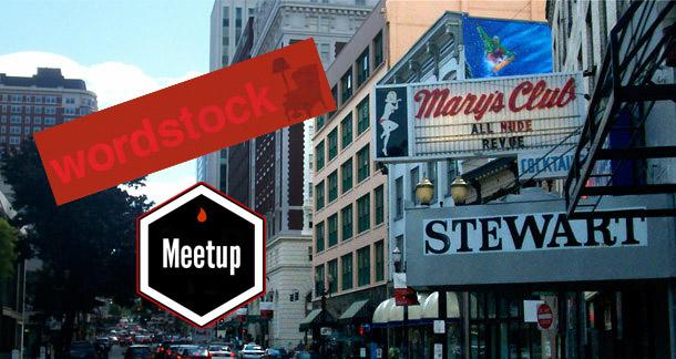 Meetup, News, Site, Wordstock