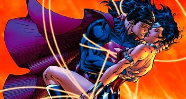 Superman And Wonder Woman Are Hittin' It