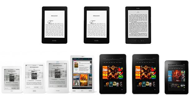 Amazon, Kobo Announce New eReaders & Tablets