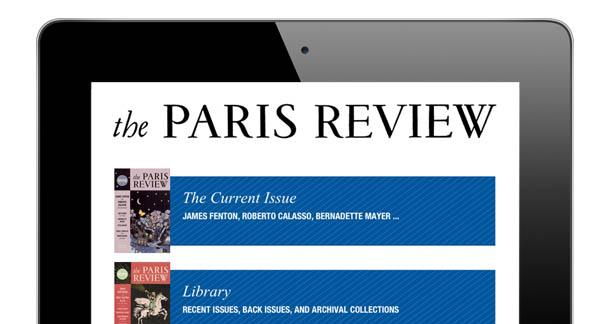The Paris Review App