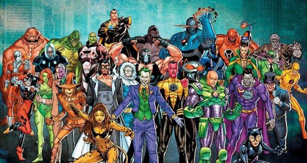 50 DC Comics Favorite Supervillains From Number To 1 The Classic