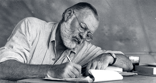 Hemingway's last word from beyond the grave
