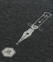 LitReactor Pen/Knife T-Shirt