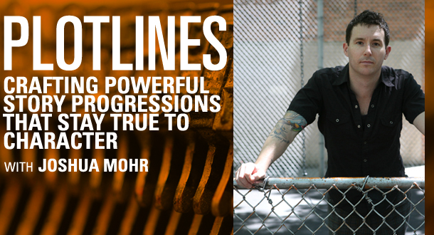 Plotlines with Joshua Mohr - September 2013