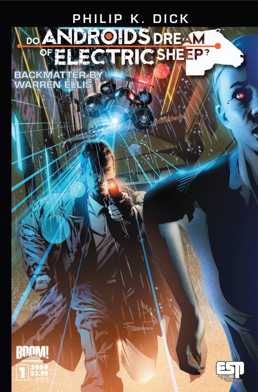 comics crossover science fiction gets inked up  do androids dream of electric sheep