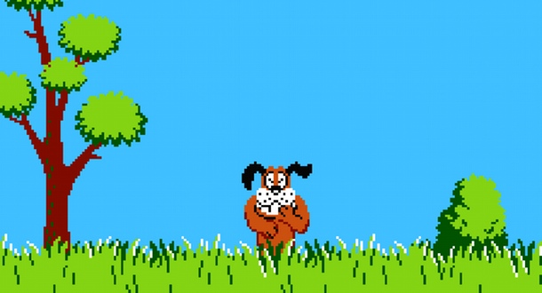 Duck Hunt, promoting hand guns and emasculation via dog since 1984