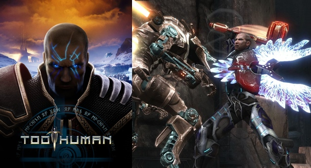 Too Human, when science fiction and Norse mythology tried to have a baby