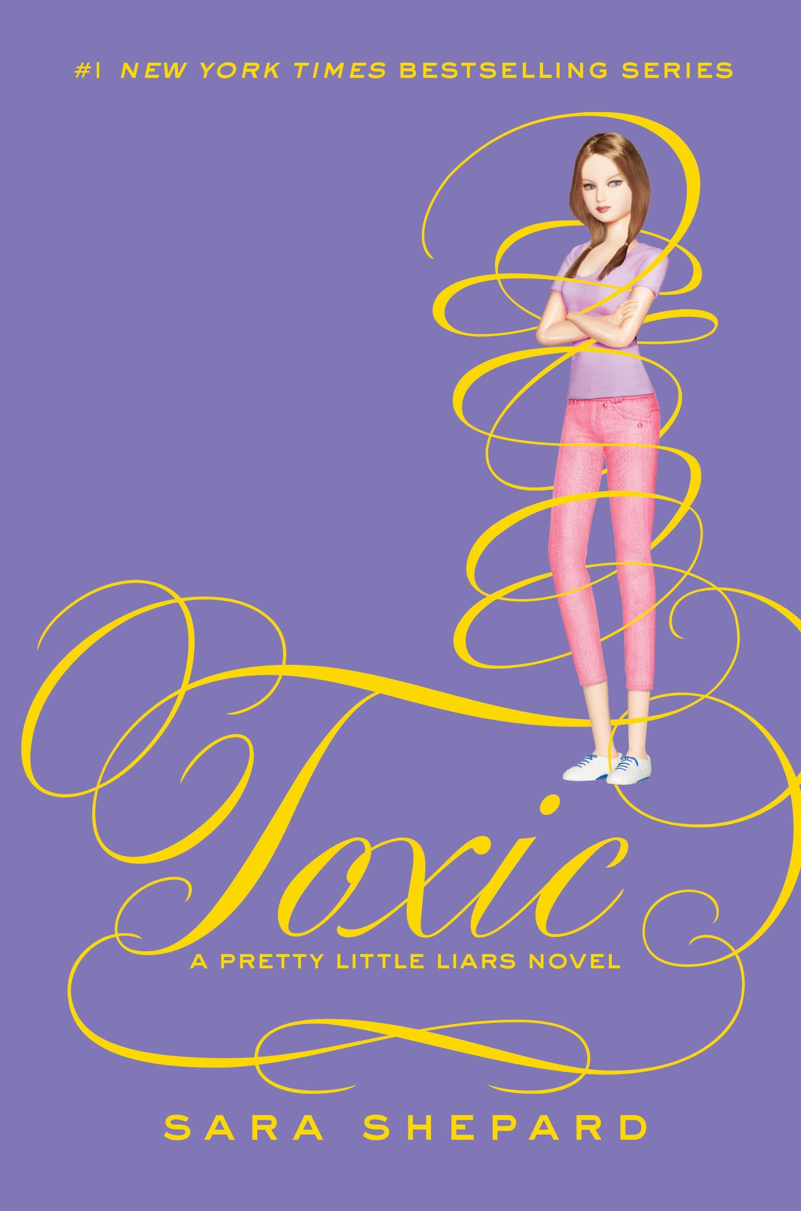 Book Cover Of Pretty Little Liars ~ The book bratz review toxic pll by sara shepard