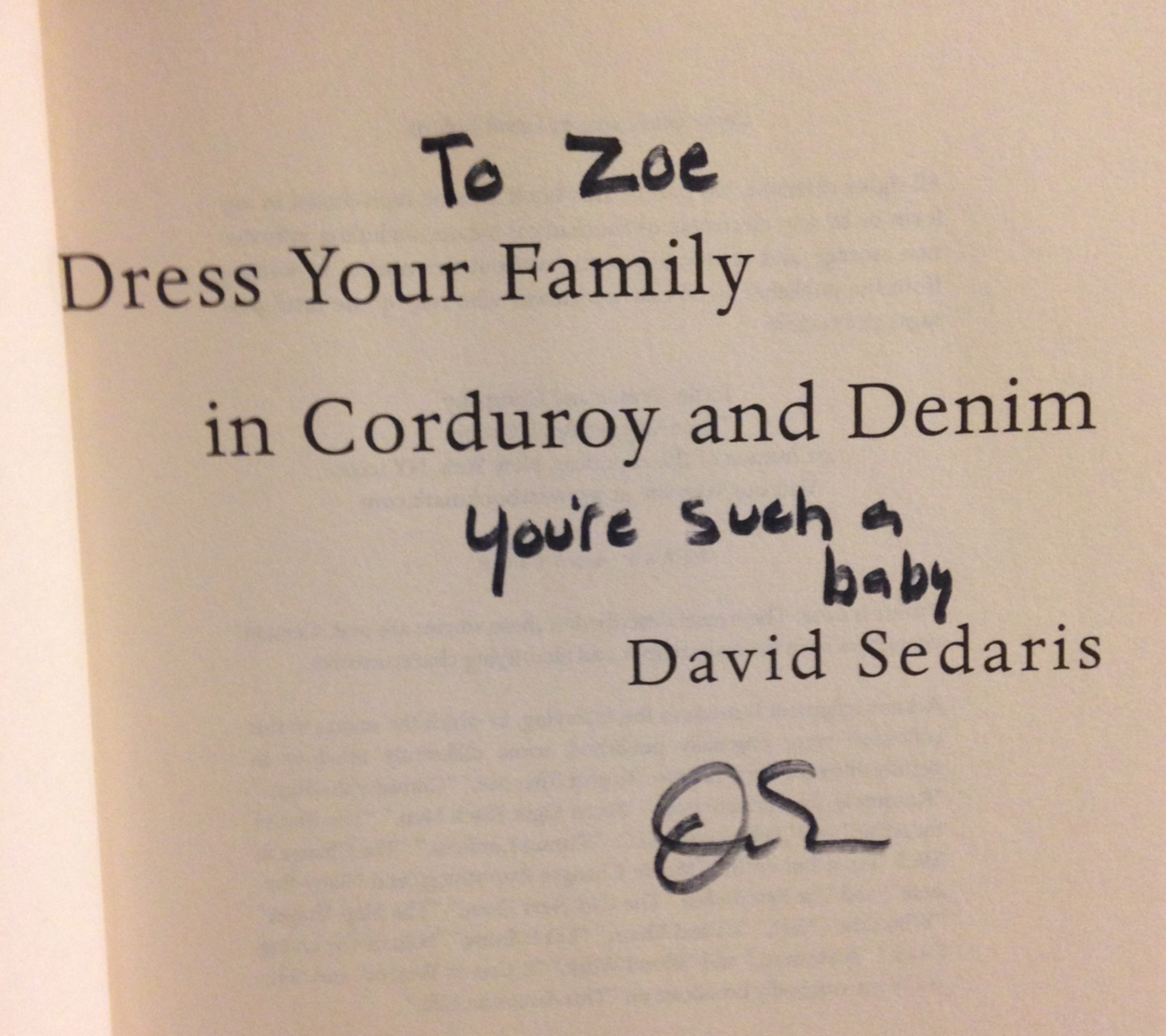 david sedaris family essay David raymond sedaris is an american grammy award and often concerns his family in his newest collection of essays, david sedaris lifts the corner of.