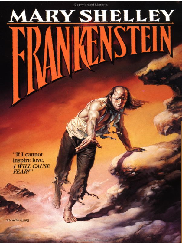 an analysis of mary shelleys novel frankenstein Frankenstein study guide contains a biography of mary shelley, literature  the  speaker is victor frankenstein, for whom the book is named.