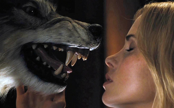 best wolf kiss EVER