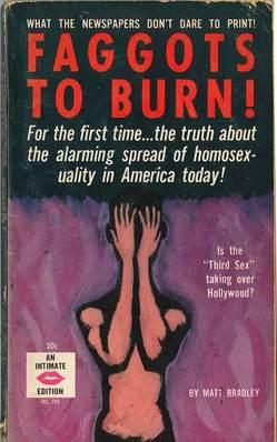 """Faggots To Burn"" by Matt Bradley"