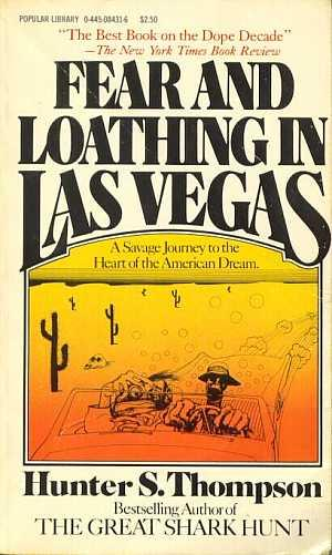 Writing an essay on the book Fear and Loathing in Las Vegas?