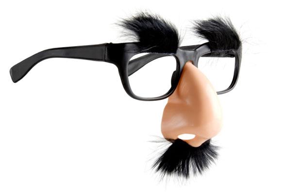 Как сделать нос и усы
