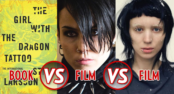 Book vs film vs film the girls with the dragon tattoos for The girl with the dragon tattoo story