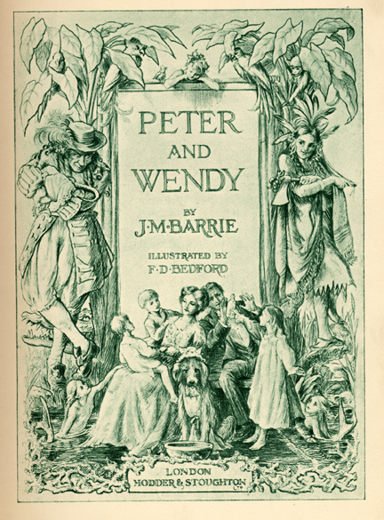 Peter and Wendy (1911) Book - Deconstructing Peter Pan