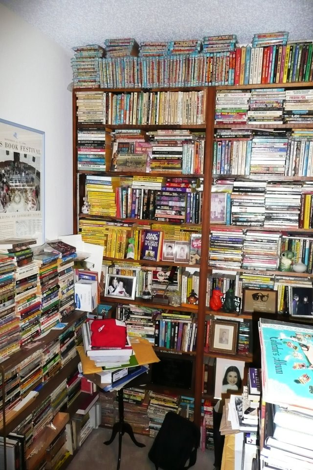 Show Us Your Shelves entry: Bill Crider