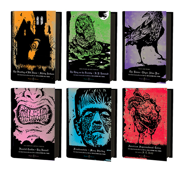 Book Cover Design Horror ~ Guillermo del toro curates new horror covers for penguin