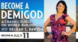 Become a Demigod with Delilah S. Dawson