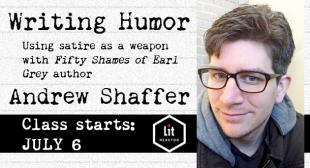 Writing Humor with Andrew Shaffer