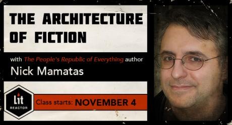 The Architecture of Fiction with Nick Mamatas