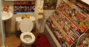Scientist studies health risks of reading while using the toilet
