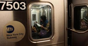 Kim Purcell gets book deal riding the subway
