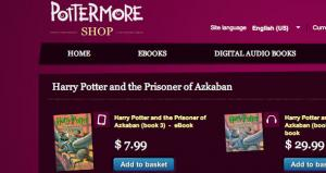 Harry Potter novels finally available in eBook