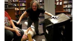 Author Joseph D'Lacey Eaten by a Zombie
